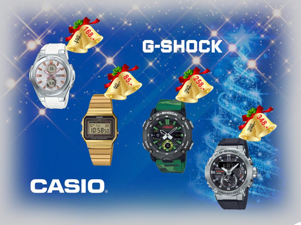 Weihnachtsdisplay-Casio